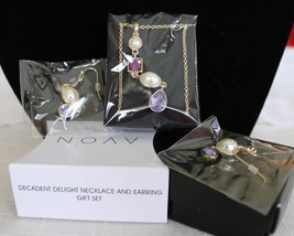 Decadent Delight Necklace and Earring Gift Set  - $13.96