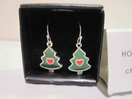 Holiday Dangle Earrings - Christmas Trees Only - $11.29