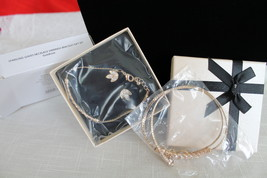Sparkling Leaves 3 Pc Earrings, Necklace, and Bracelet Set  - $14.98