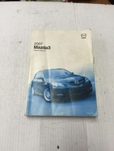 2007 Mazda 3 Owners Manual Without Case - $19.79