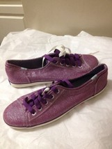 Women's Purple And Silver Keds Sneakers Size 8.5 New - $21.77
