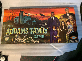 Vintage 1964 ADDAMS FAMILY BOARD GAME No 2269-9 IDEAL VERY Nice! plastic... - $299.99