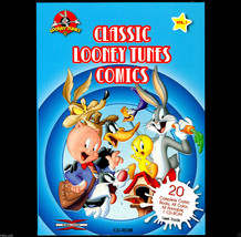 Classic Looney Tunes Comics CD New● 20 WB 1970s Comics in PDF on CD ● IB... - $9.45