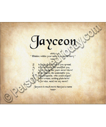 Jayceon Hidden Within Your Name Is A Special St... - $8.95