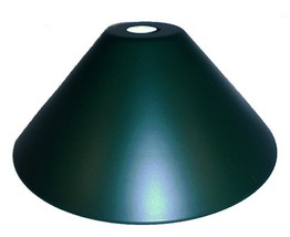 "Green Industrial Style 14"" Pendant Light Shade Neckless Cone Metal Lamp - $49.95"