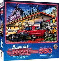 MasterPieces Drive-Ins, Diners and Dives - Starlite Drive-in 550pc Puzzle - $44.54