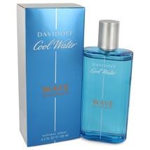 Cool Water Wave by Davidoff Eau de Toilette Spray 4.2 oz for Men #542324 - $37.58