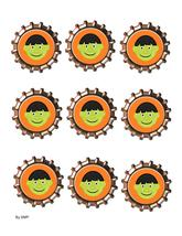 Face Bottlecap2-Download-ClipArt-ArtClip-Bottle Cap-Digital - $2.00