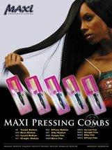 Maxi Pressing Comb Size: StraightMedium - $15.89