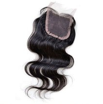 "Natural Off Black 10""-20"" Virgin Hair Body Weave Style Brazilian Lace Cl... - $118.79"