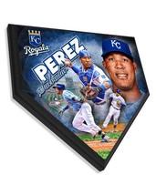 """Salvador Perez Kansas City Royals 11.5"""" x 11.5"""" Home Plate Plaque  - $40.95"""