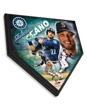 """Robinson Cano Seattle Mariners 11.5"""" x 11.5"""" Home Plate Plaque  - $40.95"""