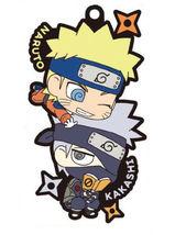 Naruto Shippuden Two Man Cell Rubber Mascot Key Chain (Naruto & Kakashi)... - $19.99
