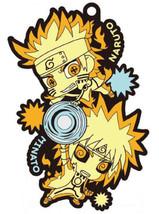 Naruto Shippuden Two Man Cell Rubber Mascot Key Chain (Naruto & Minato) ... - $19.99