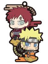 Naruto Shippuden Two Man Cell Rubber Mascot Key Chain (Naruto & Gaara) *... - $19.99