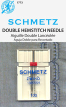 Double Hemstitch Wing Sewing Needle by Schmetz - $7.99