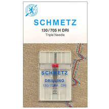 Triple Needle Size 2.5/80 Universal Sewing Machine Needle by Schmetz ~ 1... - $7.19