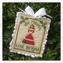 Be Merry #12 FINAL Classic Ornament cross stitc... - $5.40