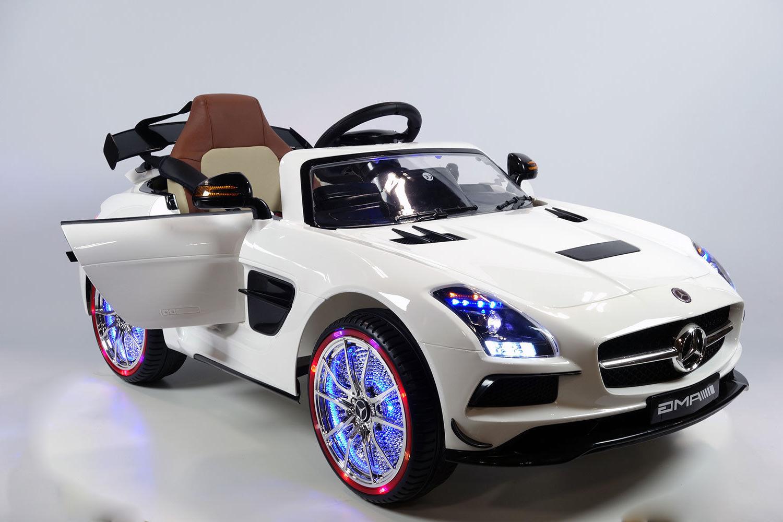 Mercedes benz sls amg kids ride on battery powered for Kids mercedes benz car