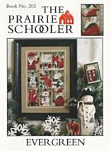 Evergreen christmas cross stitch chart Prairie Schooler  - $8.10