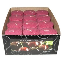 "Candle lite 2"" Black Cherry Scented Votive Candle Sold in packs of 12 - £12.17 GBP"