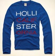 Hollister Newport Peninsula Men's Shirt size Small S NEW Blue Long Sleeve L/S - $24.99