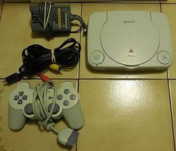 Sony Playstation PSOne White Video Game Console (Complete SCPH-101) - $42.08