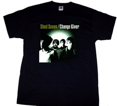 SHED SEVEN Change Giver T shirt ( Men S - 3XL ) - £12.38 GBP - £19.96 GBP