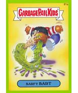 2014 Garbage Pail Kids Series 2 GREEN BORDER *BARFY BART* #81a - $1.00
