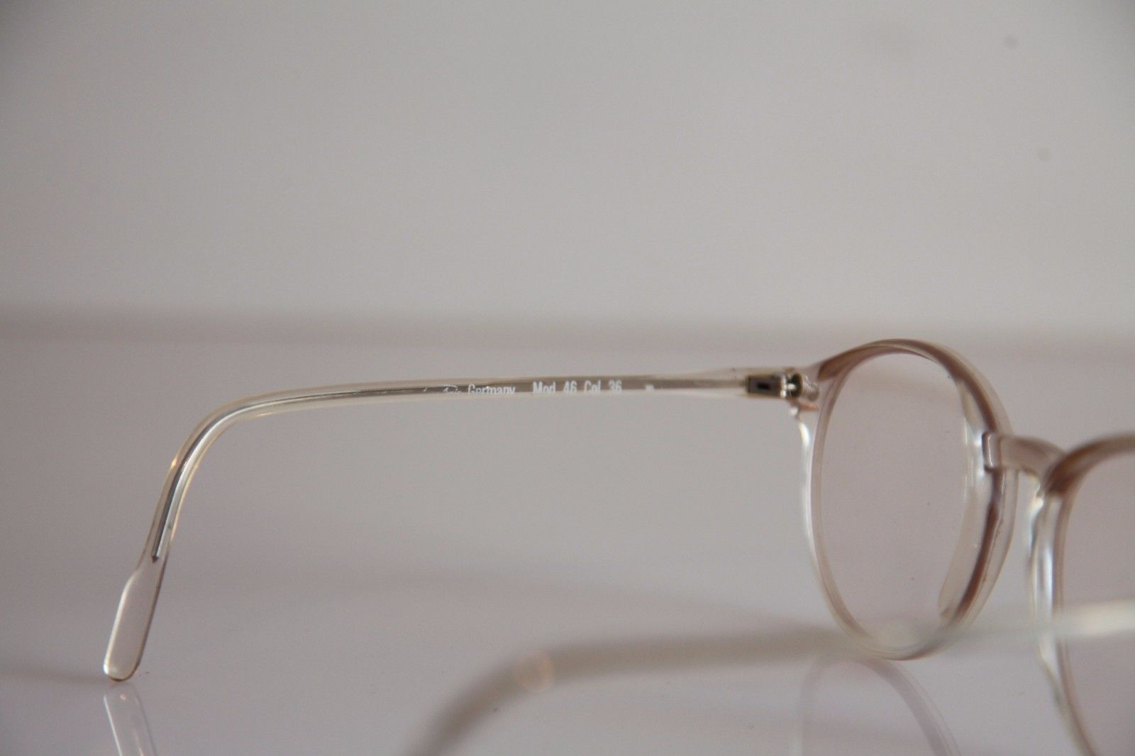 FLAIR Eyewear, Crystal Frame,  RX-Able Prescription Lenses.  Made in Germany