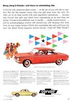 1960 Corvair 700 4-door Sedan & Club Coupe phot... - $9.49