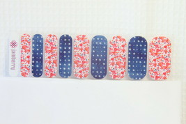 Jamberry (New) 1/2 Sheet Let Freedom Ring - $8.70