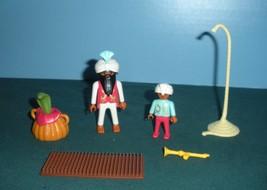 Vtg. Playmobil #3398 Circus Romani Fakirs w/ Snake, Basket, Rope Comp./N... - $32.99