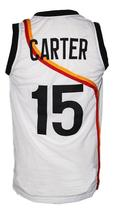 Vince Carter #15 Roswell Rayguns Basketball Jersey New Sewn White Any Size image 5