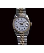 Mid size 31 mm Two tone bracelet Rolex datejust... - $4,005.54