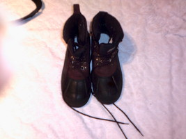 mens itasca winter boots size 8 brown,black nice pre-owned  - $21.99