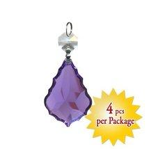 Swarovski Violet Pendeloque Prism Chandelier Pa... - $27.85