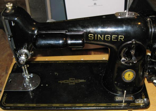 Singer 201 Face and Inspection Plates w/Screws