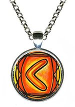 Rune Kenaz for Skill and Knowledge Handmade Silver Pendant [Jewelry] - $14.95