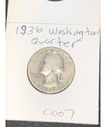 1936-P Washington Quarter Cir - $9.99