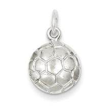 Sterling Silver Soccerball Charm     QGQC716 - $10.86