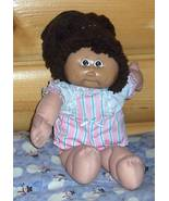 Cabbage Patch Kids Coleco-- SALE --Dk Brown Pony #9 Face CPK Orphan - $6.49