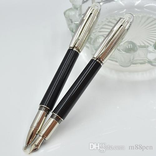 High Quality black resin ballpoint pen / Roller ball pen / Fountain pen with cry