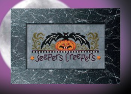 July 2015 Jeepers Creepers Pattern of the Month cross stitch chart Stone... - $4.00