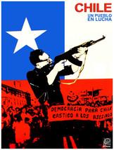 "18x24""Decoration CANVAS.Interior political art.Chile Salvador Allende.6374 - $60.00"