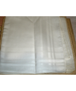 Men's Handkerchief  Pack of 4 plain White - $9.50