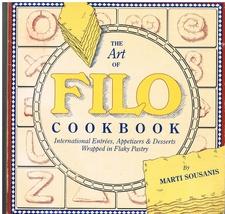 The Art of Filo Cookbook - $6.99