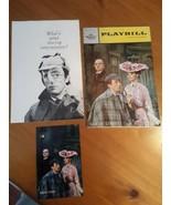 Playbill Baker Street With Insert And Postcard Inga Swenson, Fritz Weaver - $18.80
