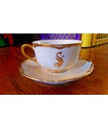 Hutshenreuthner Tea Cup and Saucer - Some damage - $5.99