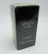 Giorgio Armani Code Eau De Toilette Spray Pour Homme 1.0oz/30ml Nib - $41.48